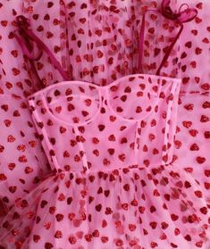 """""""heart dress by Lirika Matoshi"""" Fashion Week, Daily Fashion, Fashion Outfits, Fashion Trends, Pink Fashion, Fashion Art, Heart Dress, Dress Up, Pink Dress"""