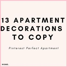 The best apartment decor inspiration for anyone on a budget. Cutest college apartment decorating ideas home decor, college decor, apartment decor Decorating A New Home, Apartment Decorating On A Budget, Diy Home Decor On A Budget, Cheap Home Decor, Decorating Ideas, Decor Ideas, Room Ideas, Gift Ideas, Apartment Hacks