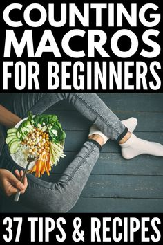 The Macro Diet for Beginners: How to Count Macros for Weight Loss Losing weight is a huge feat, and counting macros is one of the best ways to reach your weight loss goals. Check out how to count macros for weight loss! loss for beginners macros Nutrition Education, Gym Nutrition, Macro Nutrition, Nutrition Plans, Health Fitness, Nutrition Store, Fitness Pal, Holistic Nutrition, Nutrition Guide