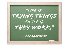 Seems like 91 years wasn't long enough for an imagination like yours, Mr. Bradbury. Thanks for trying so many things and gifting us with your wisdom.