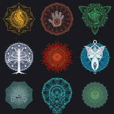 Series of LotR mandala designs based on places in the world! Elvish Language, Lord Of The Rings Tattoo, Fantasy Logo, History Of Middle Earth, Macro Pictures, O Hobbit, Jrr Tolkien, Cultura Pop, Photoshop Elements