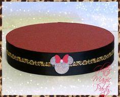 Minnie Mouse Leopard - Lollipops or Cakepops Stand - Minnie Mouse Party Decoration - Minnie Mouse Theme - Classic Leopard