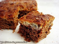 Fondant marbré con Philadelphia fatto in casa - Chocolate cake with home-made Philadelphia