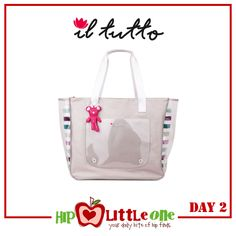 Win an Il Tutto Queenscliffe Beach Bag (RRP $129, Silver)