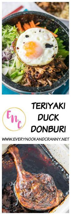 Teriyaki Duck Donburi just like Wagamama makes