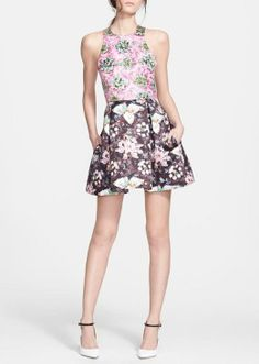 Prints are a must this spring | Fit & Flare Dress by Mary Katrantzou