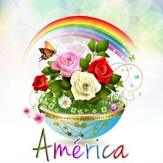 BANCO DE IMÁGENES: 100 nombres de mujeres en hermosas postales con rosas de colores para descargar y compartir gratis...