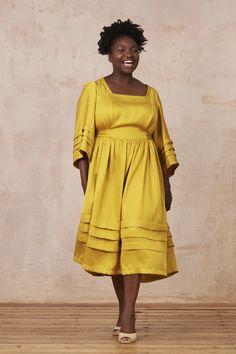 Tamzin Dress - PDF sewing pattern – By Hand London Sewing Blogs, Pdf Sewing Patterns, Print Patterns, Sewing Ideas, By Hand London, Flora Dress, Anna Dress, Pinking Shears, Gathered Skirt