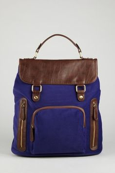 Nila Anthony - Multi-Tone Backpack
