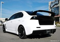 Cole-Sprouse-Mitsubishi-Evo-X- performance he wants.. And the doors and accessibility to the back seat that I want.