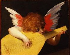 Playing putto (Musician Angel) - Rosso Fiorentino (LATE RENAISSANCE)
