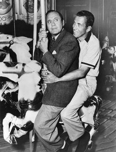 Jack Benny and Ed Sullivan