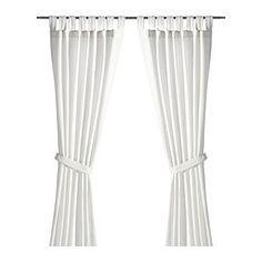 LENDA Gardiner med bånd, 1 par - IKEA