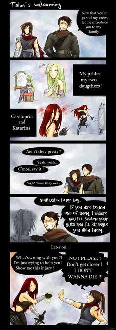 Talon's welcoming