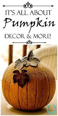 Decorating ideas with real and faux pumpkins