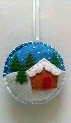 Felt Snowman ornament Felt christmas ornament by DusiCrafts Felt Christmas Decorations, Felt Christmas Ornaments, Christmas Fun, Christmas Projects, Felt Crafts, Holiday Crafts, Christmas Sewing, Handmade Christmas, House Ornaments