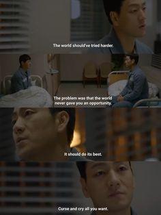 Korean Drama Quotes, Prison, Crying