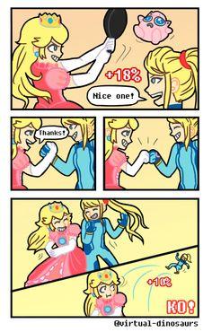 Oops | SSB4 Peach