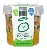 thai coconut curry - innocent  100% pure fruit smoothies, orange juice, kids smoothies and tasty veg pots