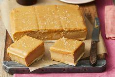 Salted Caramel Custard Slice