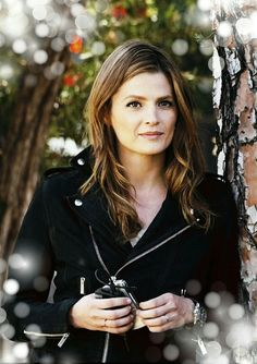 Stana Katic is Kate Beckett in Castle