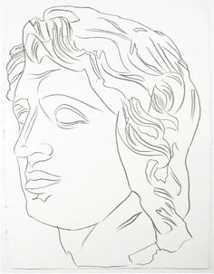 Alexander the Great, by Andy Warhol