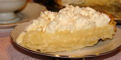 Kokosova krem pita (Coconut Cream Pie)