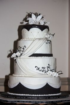 Cake Shop Ideas Black White Patisserie Resep Pastry And