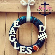 Philadelphia Eagles Football Wreath :)