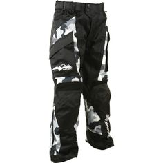 HMK Ascent Snow Pants - Black/Camo