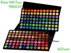 Paleta 168 Cores R$65,00