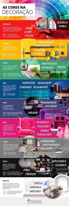 Cores de tintas: Como combinar cores nos ambientes