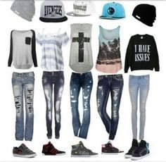 Teen outfits / Polyvore Teen Outfits | Fashion » Comfy Outfit(: | We Heart It