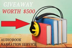 """FREE #GIVEAWAY """"Convert your #Manuscript into an #AudioBook for FREE"""" Have you already #published your book but don't have an audiobook? You are losing thousands of dollars in sales.  HappySelfPublishing.com will convert your #book (upto 20k words) into a professional audiobook for FREE! (WORTH $500)"""