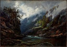 The Upper Nepean, (1889) by WC Piguenit :: The Collection :: Art Gallery NSW