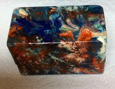 Unicorn SPiT Wooden Recipe Box - unicorn spit wooden recipe box, crafts, SPiTin Pretty Love the look of this