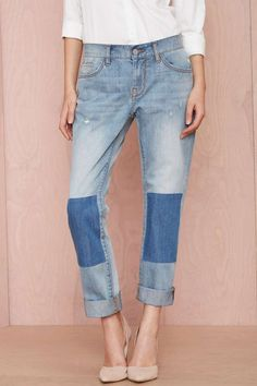 Nasty Gal Denim - Patch Up Boyfriend