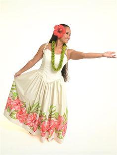 Hula Dress 340 | AlohaOutlet Dress Up Costumes, Dance Costumes, Hawaiian People, Different Dress Styles, Hawaiian Dresses, Hula Dancers, Gourd Art, Island Life, Tahiti