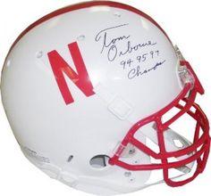 Tom Osborne Signed Full-Size Replica Helmet with 94 95 97 Champs Inscription #SportsMemorabilia #NebraskaCornhuskers