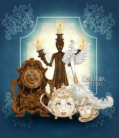 Beauty and the Beast - Cory Jensen - Бумажные куклы - Каталог статей - Бумажные куколки Disney Home, Disney Art, Disney Movies, Disney Pixar, Disney Stuff, Walt Disney, Beauty And The Beast Diy, Beauty And The Best, Diy Beauty