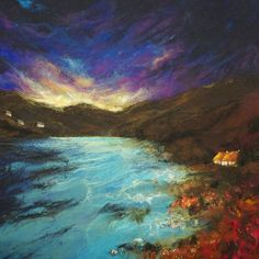 Moy Mackay felt paintings