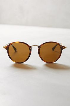Ray-Ban Round Icon Sunglasses #anthropologie