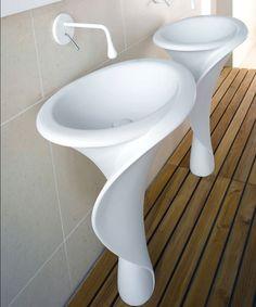 Lavandino futuristico per bagni  moderni n.06