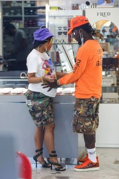Cardi B Shows Off Her Growing Baby Bump While Shopping With Offset Pregnant Celebrities, 2 Boys, Cardi B, Baby Bumps, Shops, Mom, Sunglasses, Shopping, Fashion
