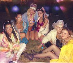 Rave Festival Outfits, Edm Festival, Festival Looks, Festival Style, Festival Fashion, Festivals, Burning Man Girls, Secret Garden Parties, Raves