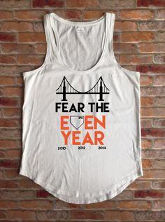 Womens SF Giants Fan Shirt, San Francisco Giants Fan, Girls Giants T-Shirt, Even…
