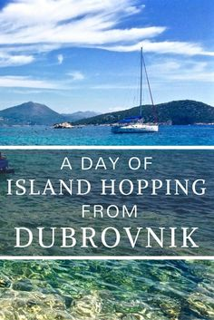 Need a relaxing getaway? This island hopping tour from Dubrovnik is everything you need to kick back and enjoy the beautiful Croatian weather! http://www.littlethingstravel.com