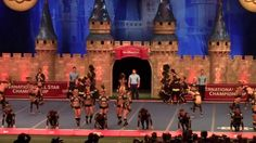 this uniforms look great on stage, Top Gun Large Coed UCA 2014
