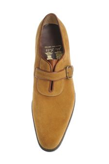 John Lobb / Wholecut Oxford Laid On Facings Strap and Buckle