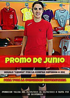 Promoción de Junio :: Zona UEx, Tu Tienda Universitaria